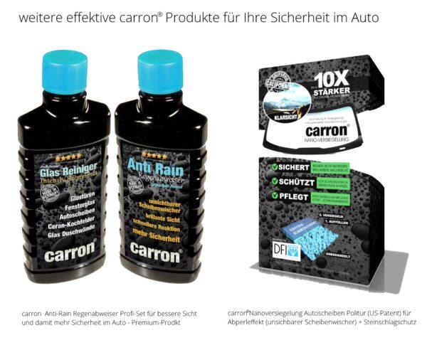 carron® Spezialist für Glasversiegelung und Nanoversiegelung