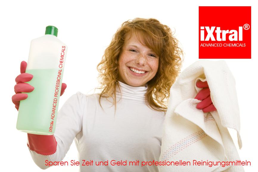 iXtral ADVANCED PROFESSIONAL CHEMICALS erleichtert den Alltag