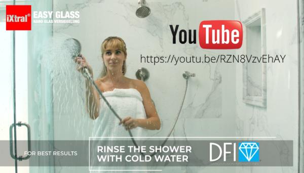 iXtral EASY GLASS Glas-Versiegelung macht das leben leichter - Youtube Video