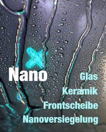 carron Nano-Versiegelung Frontscheibe polieren für Steinschlagschutz Lotuseffekt Anti-Rain