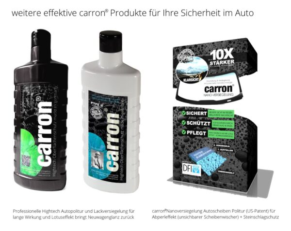 carron® Spezialist für Autopolitur Lackversiegelung Glasversiegelung Nanoversiegelung