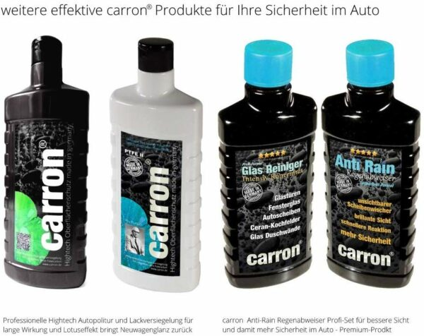 carron Autopflege Autopolitur Lackversiegelung Hightech made in germany