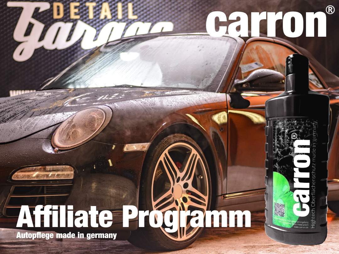 carron® Autopflege made in germany Affiliate Programm
