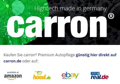 carron® Premium Autopflege erfolgreich auf allen Portalen