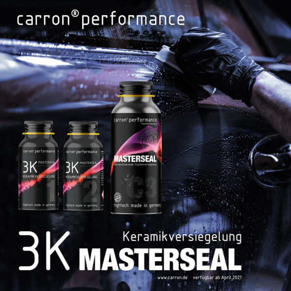 carron® High Performance 3K Keramikversiegelung Nanotechnologie made in germany